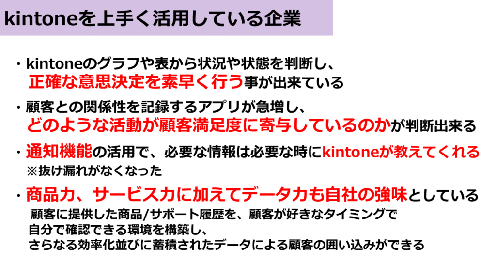 kintoneポイント